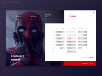 Movie Theater Checkout page