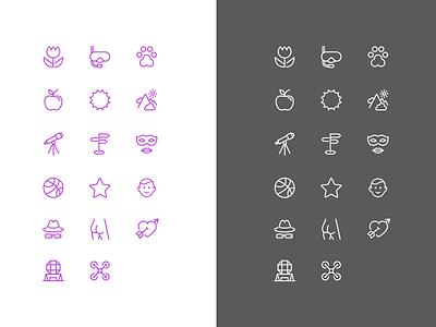 Icon set branding icon set