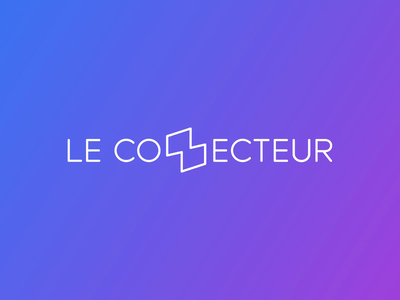 Le Connecteur programming zdog design webanimation logo javascript code branding design animation branding