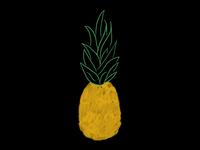 pineapple illo