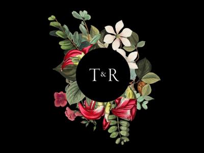 T+R Wedding Invite