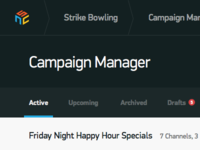 Campaign Manager UI