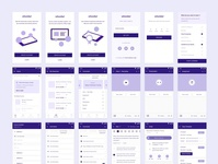 LMS Mobile App Wireframe