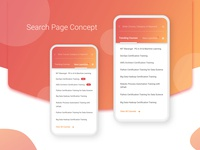 Search Page Mobile