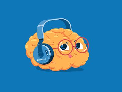 DistroKid 'Dave' Character Design animated gif cute character flat cartoon illustration character design loop vector