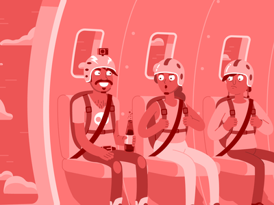 Mentos - Cola Flavour soda cola candy character flat cartoon illustration design character design vector