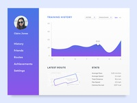 Daily UI Challenge #018 - Analytics Chart