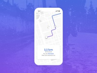 Daily UI Challenge #020 - Location Tracker