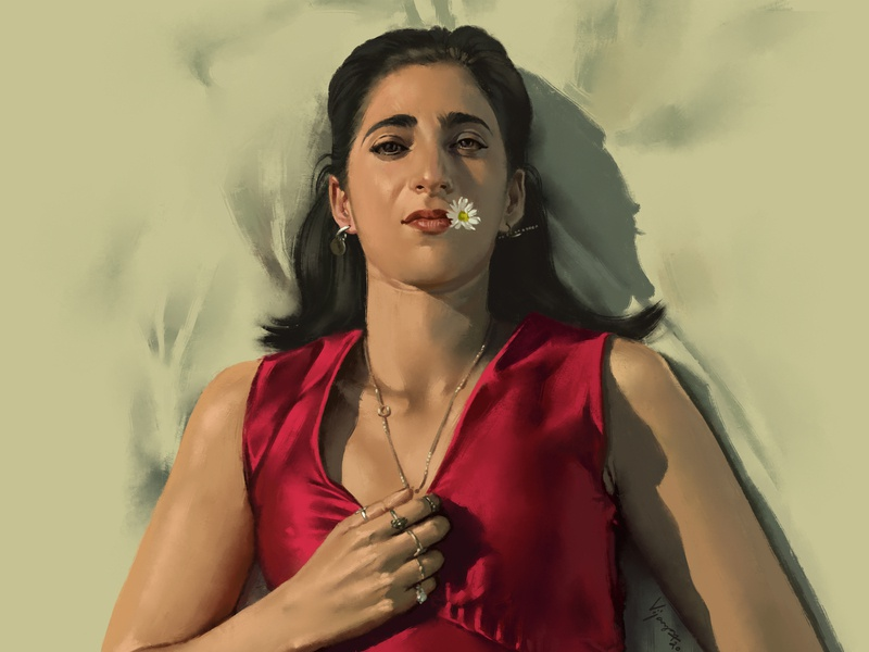 Nairobi | Digital Painting | Money heist portrait photoshop painting netflix money heist la casa de papel4 lcdp la casa de papel fineart fanart nairobi drawing digitalart digital painting artist art