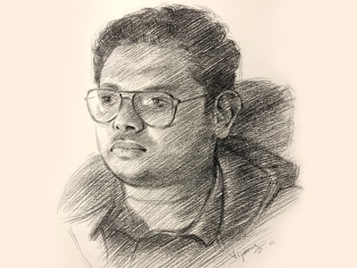 Portrait sketch | Pencil drawing