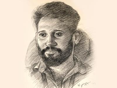 Portrait sketch | Pencil drawing