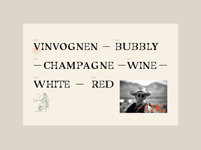 Vinvognen vinvognen typography concept logo branding design graphic design van wine bar sale wine