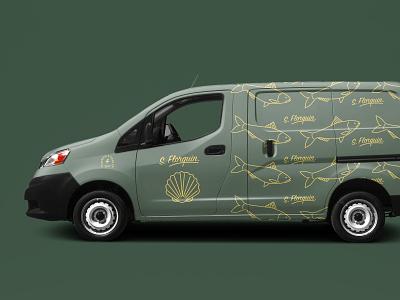 Florquin Branding car decal car studiowad vector logo branding design graphic design