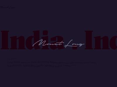 Monet Long Website Case prototype webdesign ui  ux motion website branding