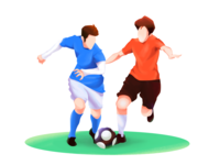Play footbal