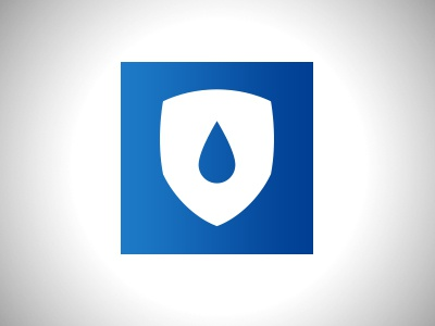 Water Resistant Icon v2  illustration graphic design logo resistant water icon