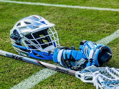 Ohio Machine Lacrosse Stick graphic design sports mll mock up stx lacrosse