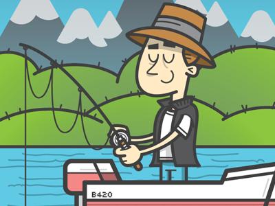 Thumb fishing
