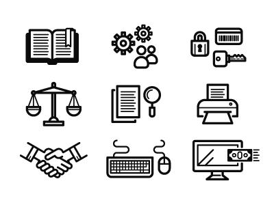 Xerox icons