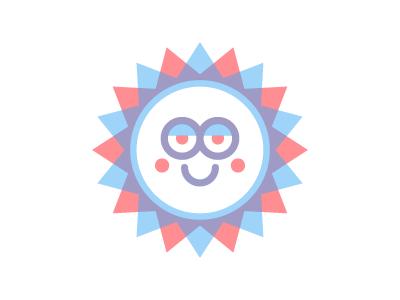 Happy Sunshine sunshine red blue happy smile sun moran kevin