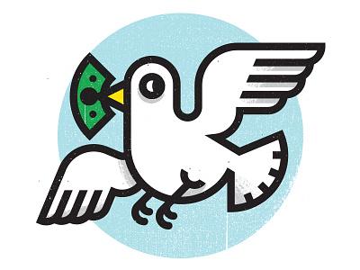 Goodbye Money fly kevinmoran green blue money bird