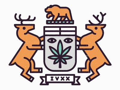 Dispensary kevinmoran 420 crest bear deer weed marijuana dispensary ontario toronto