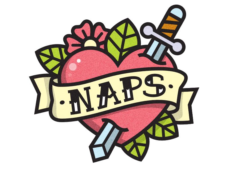 Naps  love flower knife sword heart kevinmoran naps