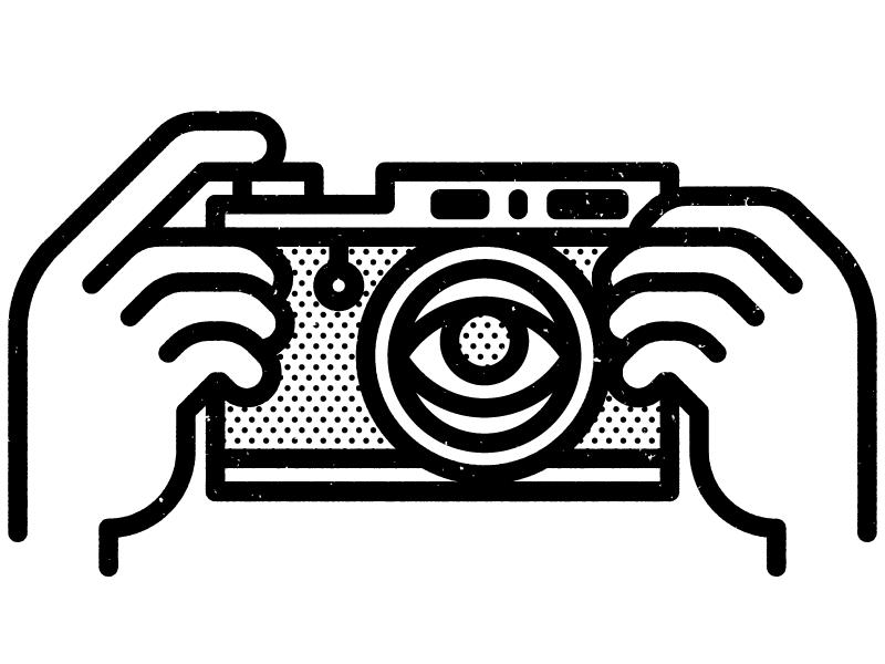 Camera dribbble
