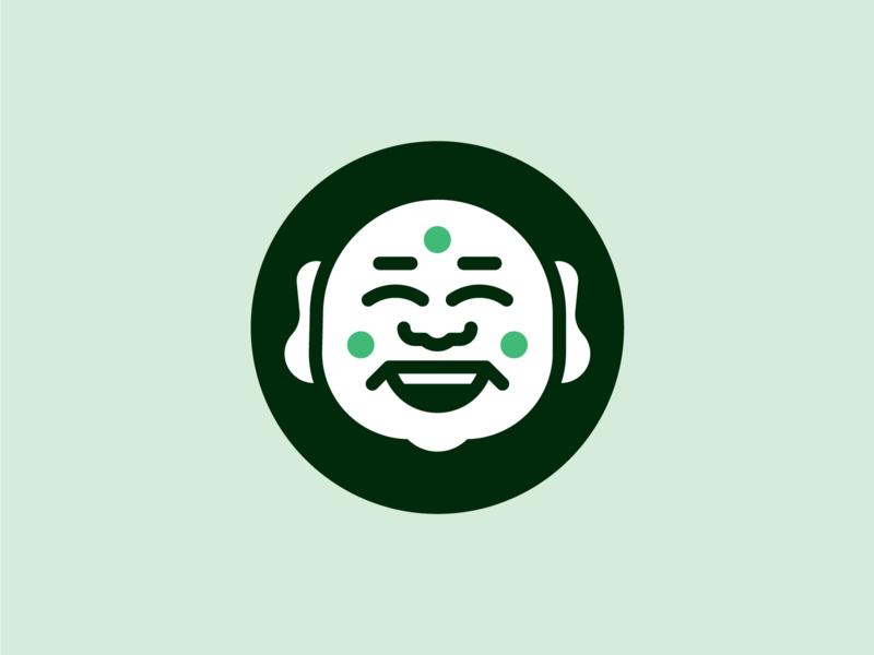 Buddha smile face buddha