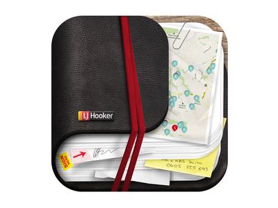 LJ Hooker - Internal iPhone App Icon iphone app icon lj hooker sales organiser real estate