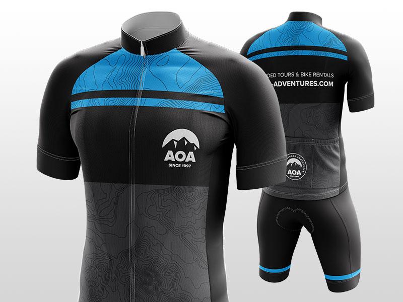 Cycling Kits! jersey kit cycling topography aoa