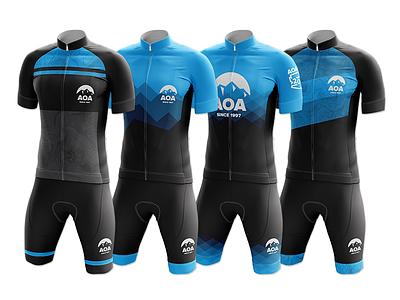 AOA Kit Mockups - Round 1 mockup jersey kit cycling aoa