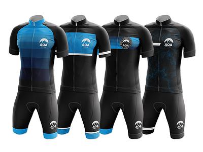 AOA Kit Mockups - Round 2 mockup jersey kit cycling aoa