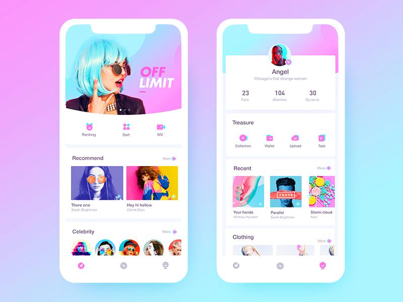 Two-color ICON colour ui design icon