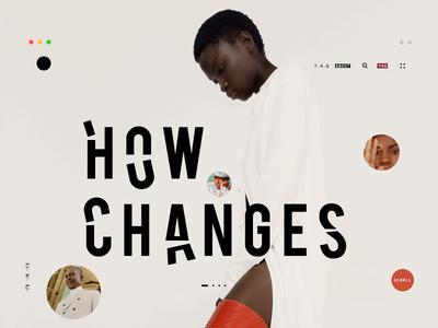 Changes UI