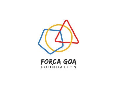 Forca Goa Foundation logo goa empowerment sustainability ngo football logo