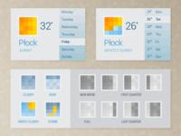 Weather widget-app