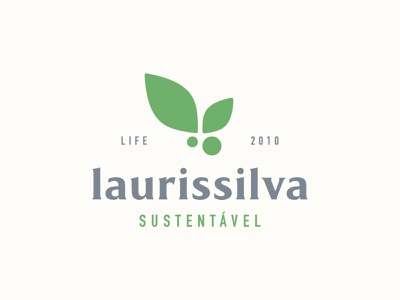 Laurissilva Sustentável nonprofit conscious azores environment climate green eco laurissilva nature forest plants ngo sustainability sustainable branding icon vector logo design clean