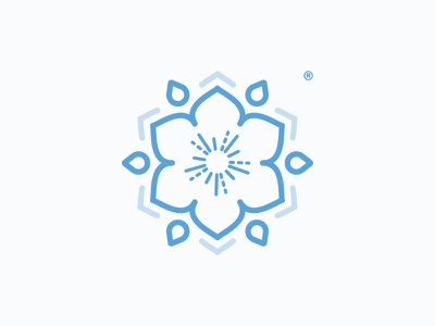 Sarra Yoga Mandala mindfulness light asana yoga teacher flower mandala yoga studio yoga logo yoga lotus holistic conscious brand identity vector tipilab logo icon design clean branding