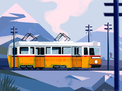Tram Between The Mountains