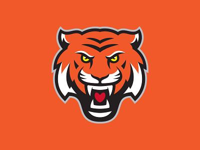 Tigers Logo tiger tigers vector football logo design illustration hockey logo sports logos sports design