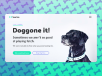 Doggone it! Another 404