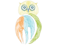 Owl for Stationery