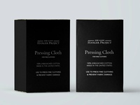 Pressing Cloth Packaging Design