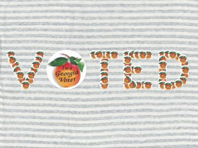 I voted on my shirt.