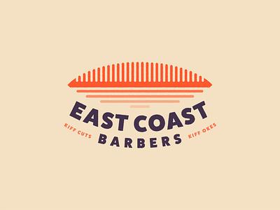 East Coast Barbers design challenge brand barber durban logo design logo