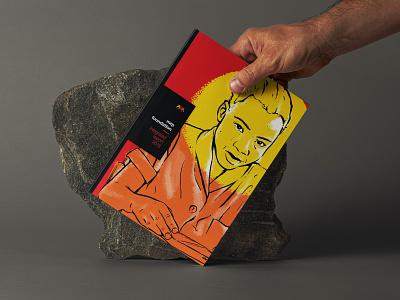 Mr Price Foundation - Annual Report annual report brochure bold print design print book cover procreate annual report