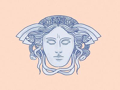 Medusa procreate ipad art design illustration