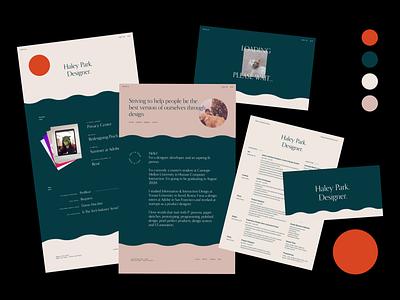 Personal Branding - 2019 typography resume portfolio design branding ux