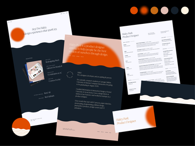 Personal Branding (2020) resume portfolio ux typography branding design